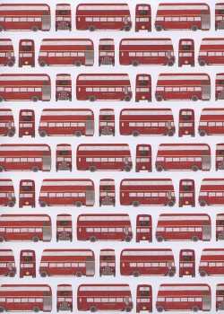 Les bus de Londres (50x70)