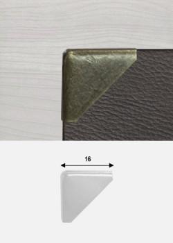 Angles triangle bronze (16x16mm)