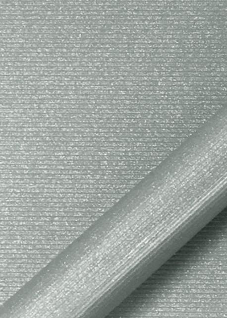 """Simili cuir """"strié pailleté"""" gris (70x100)"""