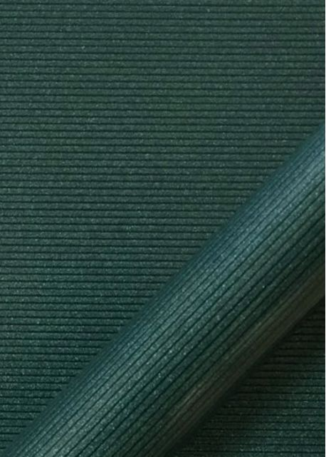 """Simili cuir """"strié pailleté"""" vert (70x100)"""