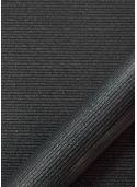 """Simili cuir """"strié pailleté"""" noir (70x100)"""