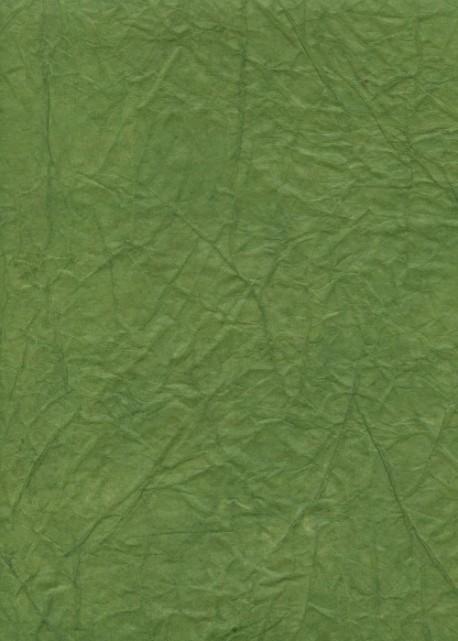 """Papier """"translucide toilé"""" vert sauge (48x70)"""