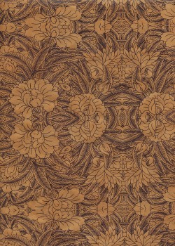 Lokta rhododendron ocre (50x75)