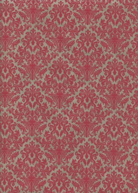 Lokta barocco bordeaux (50x75)