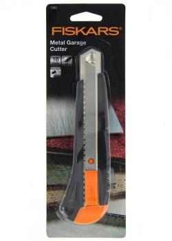 Cutter métal corps plastique 18mm FISKARS
