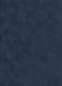 Simili cuir velours Raphia bleu marine (70x100)