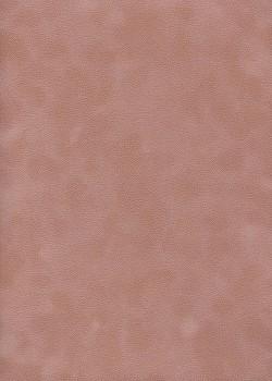 Simili cuir velours Zeste vieux rose (70x100)