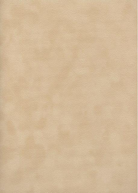 Simili cuir velours Zeste sable (70x100)