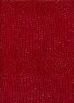 """Papier imitation Croco """"rouge et brun"""" (70x100)"""