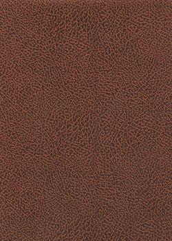 Papier imitation Chevreau marron foncé (70x100)