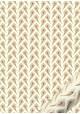 """""""Semis"""" plumes de paon dorées et rouges (50x70)"""
