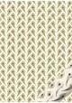 """""""Semis"""" plumes de paon dorées et bleues (50x70)"""