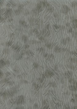 Simili cuir velours Zebra anthracite (70x100)