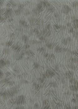 Simili cuir velours Zebra anthracite (70x100)