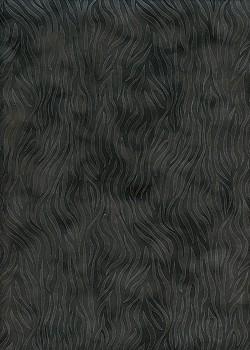 Simili cuir velours Zebra noir (70x100)