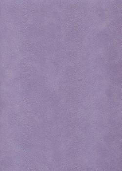 Simili cuir velours Pelage mauve (70x100)