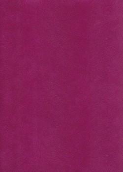 Simili cuir velours Pelage fuchsia (70x100)