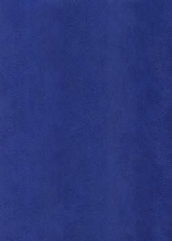 Simili cuir velours Pelage bleu électrique (70x100)