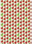Les pommes vertes et rouges (70x100)