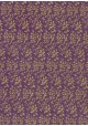 Lokta feuillage or fond violet (50x75)