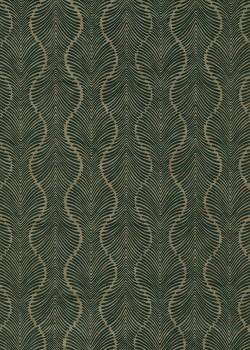 Lokta palmyre bronze et noir (50x75)