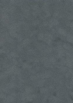 Simili cuir velours Zeste gris anthracite (70x100)