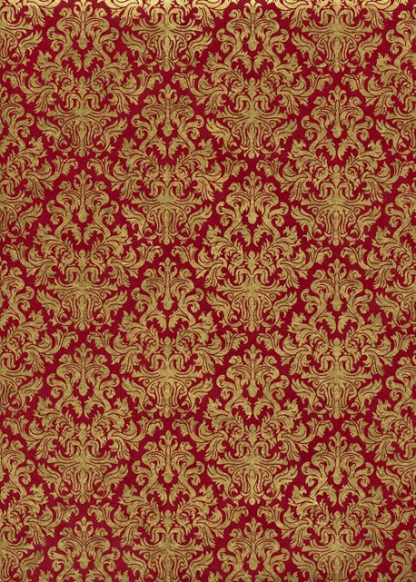 Lokta barocco or fond pourpre (50x75)
