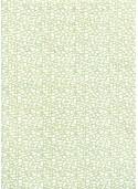 Lokta mosaique blanche sur fond vert tendre (50x75)