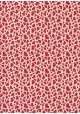 Lokta nuage de coeurs rouges fond naturel (50x75)