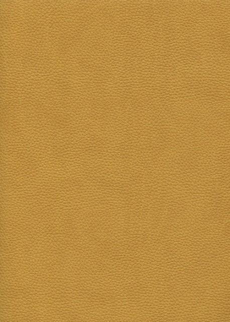 "Simili cuir ""Buffle grainé"" moutarde (70x100)"