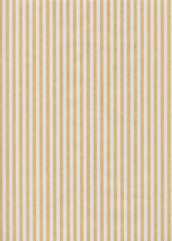 """""""Kraft fantaisie"""" fines rayures blanches sur kraft (70x100)"""