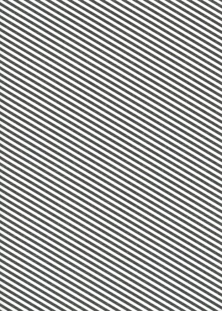"""Kraft fantaisie"" rayures diagonales noires fond blanc (70x100)"