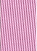 """""""Kraft fantaisie"""" rayures diagonales fuchsia fond blanc (70x100)"""