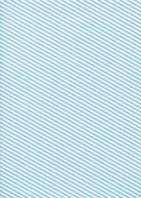 """Kraft fantaisie"" rayures diagonales bleu clair fond blanc (70x100)"
