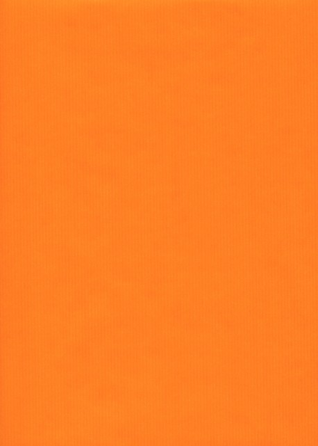 """Kraft uni"" orange (70x100)"