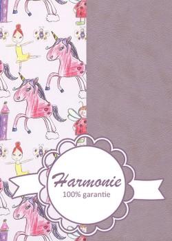 HARMONIE DUO Licornes et Cie fond Lavande
