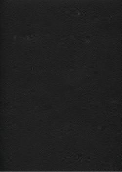 """Simili cuir """"Buffalo"""" noir profond (70x100)"""
