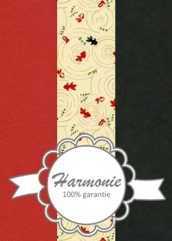 HARMONIE TRIO Poissons japonais rouges et noirs