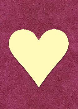"""Forme """"Coeur"""" à embosser - Grand modèle (9.5x9.5cm)"""