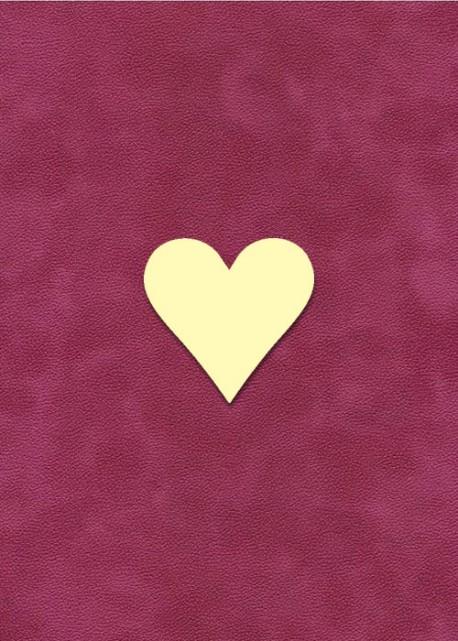 """Forme """"Coeur"""" à embosser - Petit modèle (3x3cm)"""