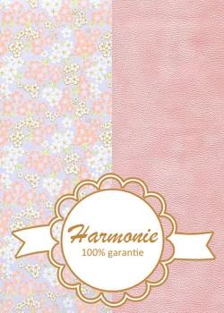 HARMONIE DUO Japonais floral rose et ciel