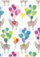 Les lamas et les ballons (68x98)