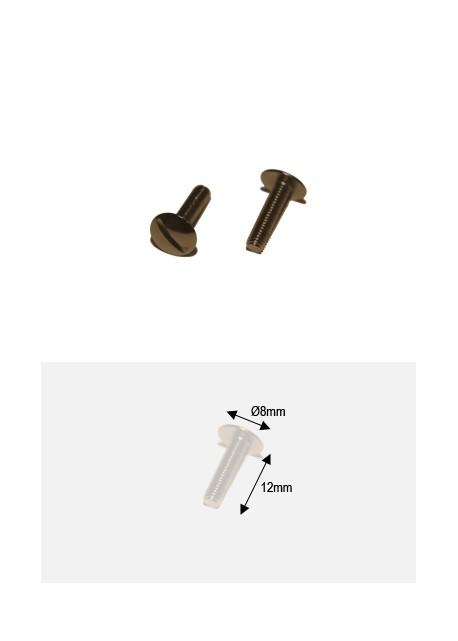 Vis bronze 12mm