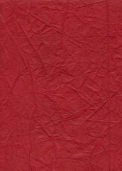 """Papier """"translucide toilé"""" rouge foncé (48x70)"""
