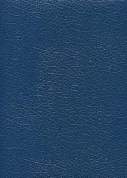 """Simili cuir Skivertex """"Chevreau"""" bleu"""
