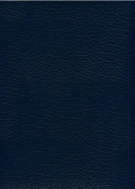 "Simili cuir Skivertex ""Chevreau"" bleu marine"