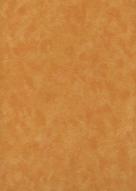 Simili cuir velours Givré orange (70x100)