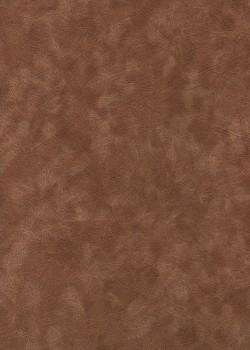 Simili cuir velours Givré noisette (70x100)