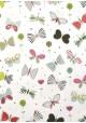 Papier Turnowsky papillons stylisés réhaussé or (50x70)