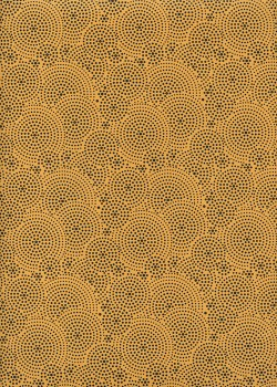 Drop jaune et noir (50x70)